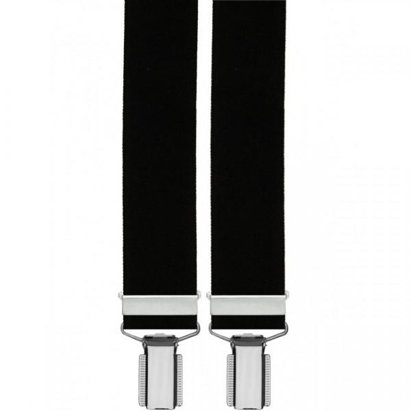 Hosenträger - Eagle Design mit Echt Leder und 3 Clips
