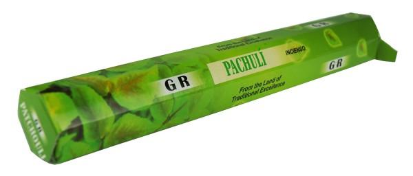 Pachuli Räucherstäbchen - 20g