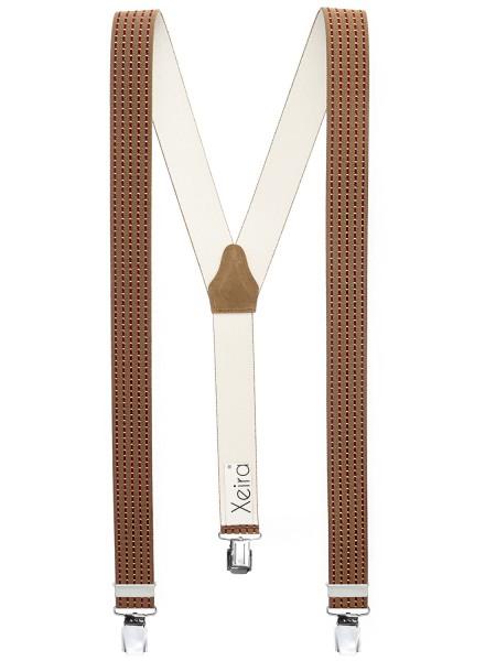 Hosenträger in Trendigen Streifen Design -XL Clips